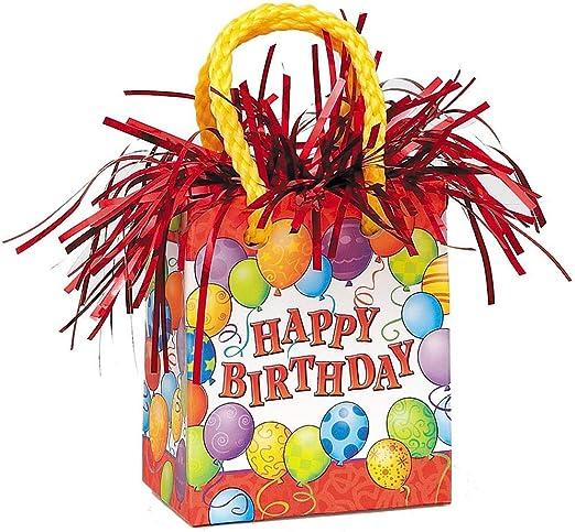 Amazon.com: Globos Cumpleaños, Peso para globo, Multicolor ...