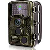 [2018 New] VENLIFE Trail Camera, 16MP 1080P 120° PIR Sensor Wildlife Game Hunting Camera 65ft / 20m Infrared with Night Vision 46pcs IR LEDs, 0.2s Trigger Time IP56 Waterproof Protected Design