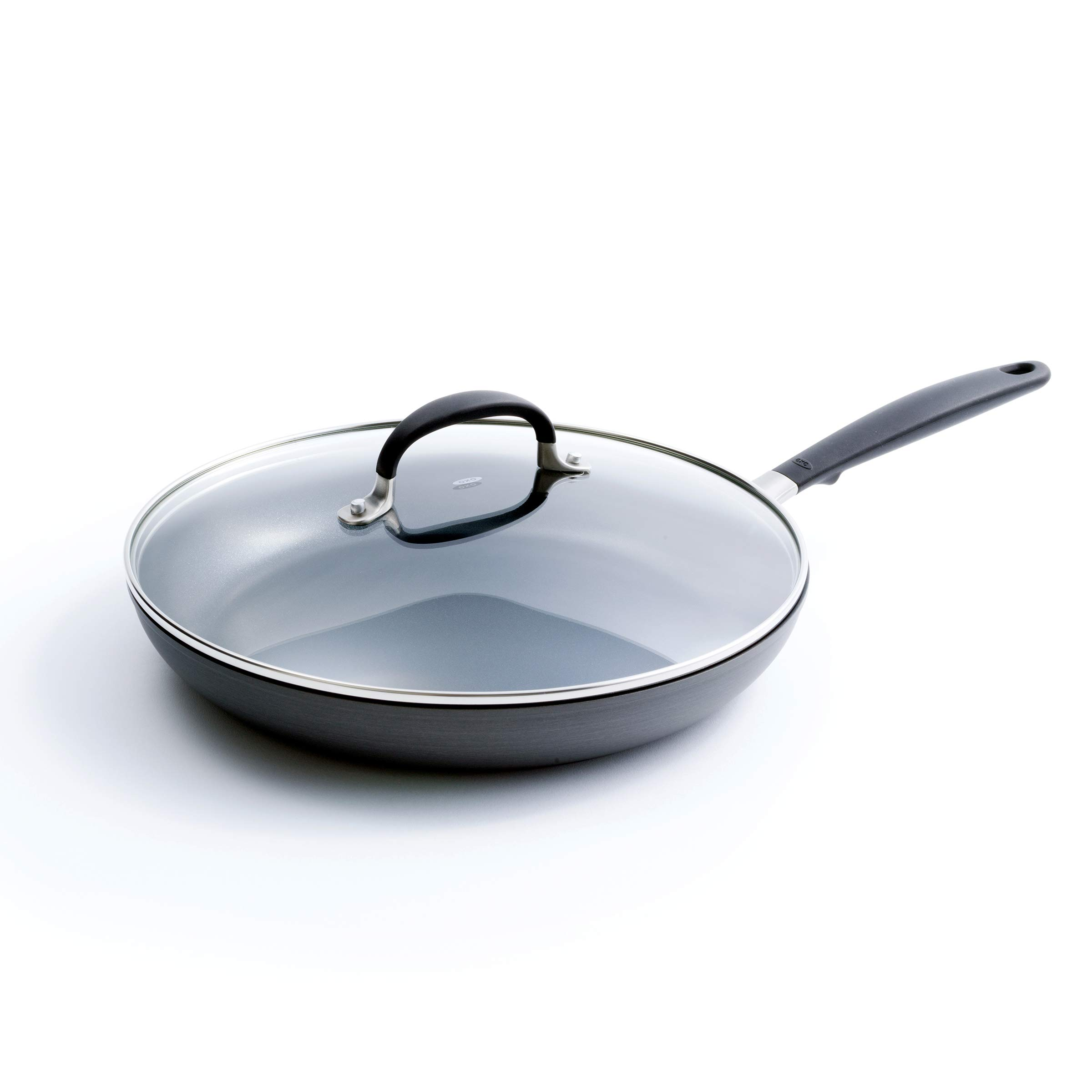 OXO CC002383-001 Good Grips Covered Frypan, 12-Inch, Black by OXO