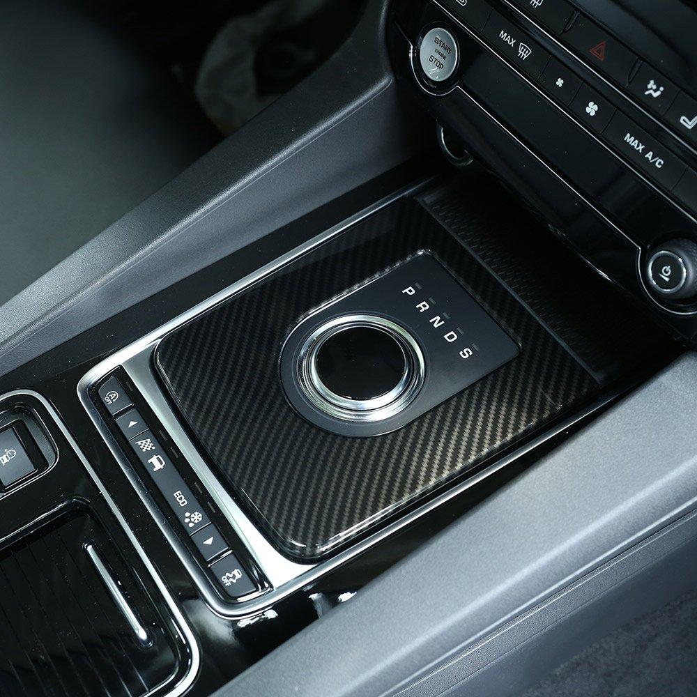 Carbon Style f/ür Jag XE f-pace X761/Auto ABS Kunststoff Center Gear Shift Verkleidung Zubeh/ör