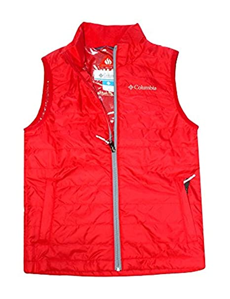 Columbia Youth Kids 5-18 Crested Butte Omni Heat Full Zip Vest