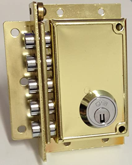 Cerradura de seguridad Jis Ltda 11 x 7 cm.