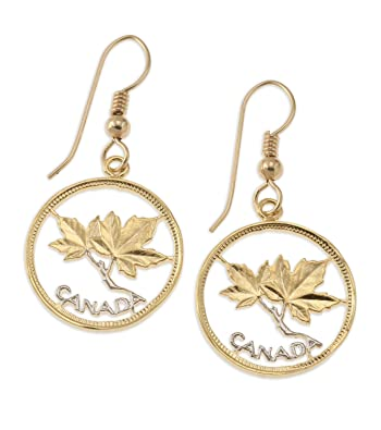 488b433d1 Image Unavailable. Image not available for. Color: Canadian Maple Leaf  Earrings, Canada One ...