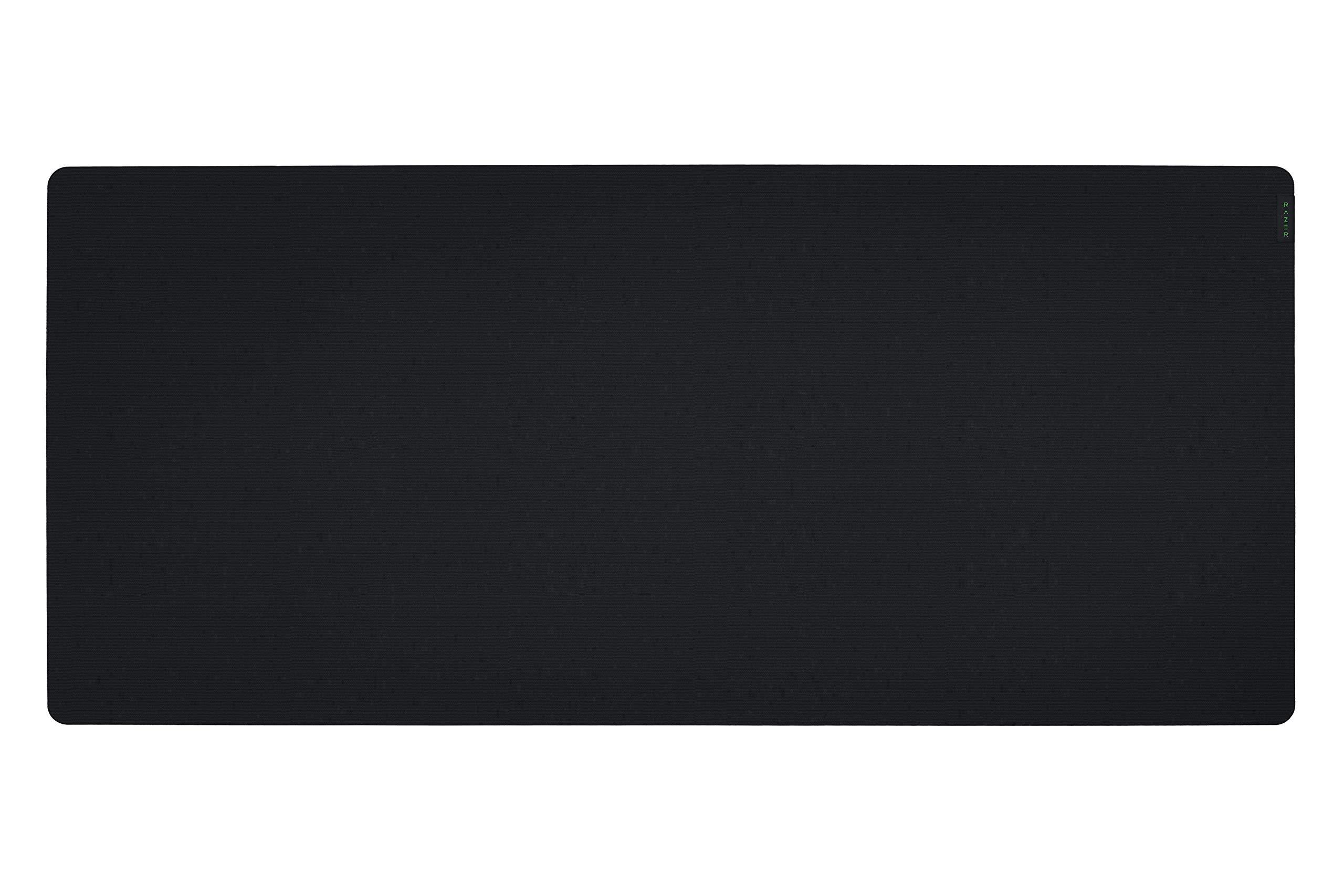 Alfombrilla de ratón para juegos Razer Gigantus v2 (3XL): Espuma gruesa de alta densidad - Base antideslizante - Negro clásico
