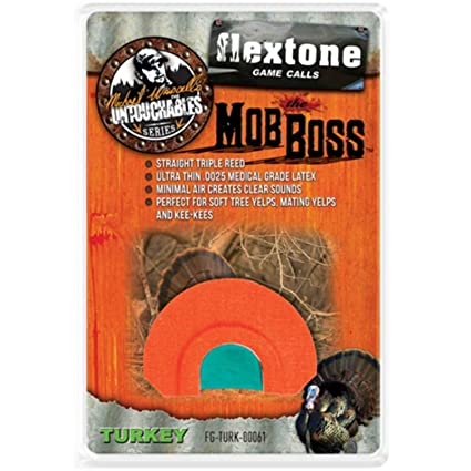 Amazon.com : Flextone FG-TURK-00061 Mob Boss : Turkey Calls ...