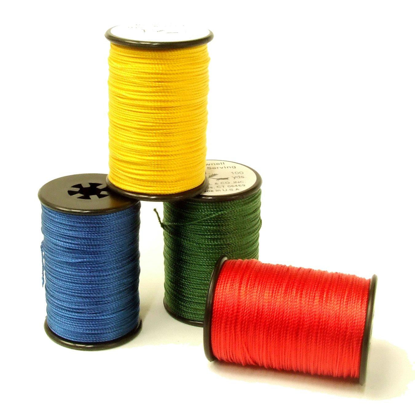 Tir à l'arc multi filament en nylon Browning 100 Yards # 4 Twisted extrémité servant à cordes 101317