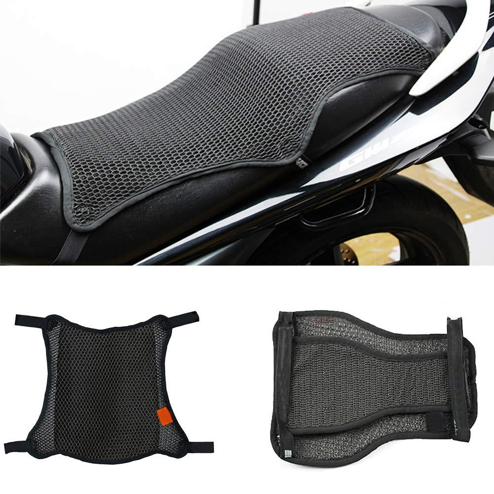 Small Wie Bild Show Motorrad Sitzbez/üge Matte W/ärmed/ämmung Sonnenschutz Kissen Antirutsch 3D Atmungsaktiv Netz Sitz Sun Pad szdc88 Motorrad Cool Sitzbezug