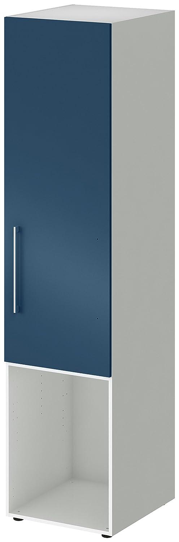 Wellemöbel, Jugendwunder, Kombischrank,  84207804, Alpinweiß   Kombischrank, Blau Saphir 9fe0a2