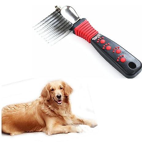 Amazon Com Pet Comb Knot Opening Comb Grooming Brush Shedding Tool