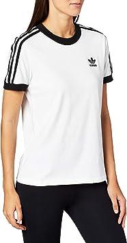 adidas 3 Str tee Camiseta, Mujer: Amazon.es: Deportes y aire libre