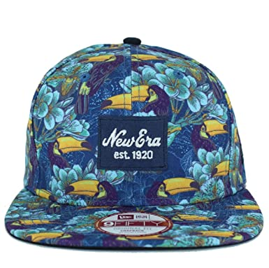 Gorra New Era – 9Fifty Tropical New Azul M/L: Amazon.es: Ropa y ...