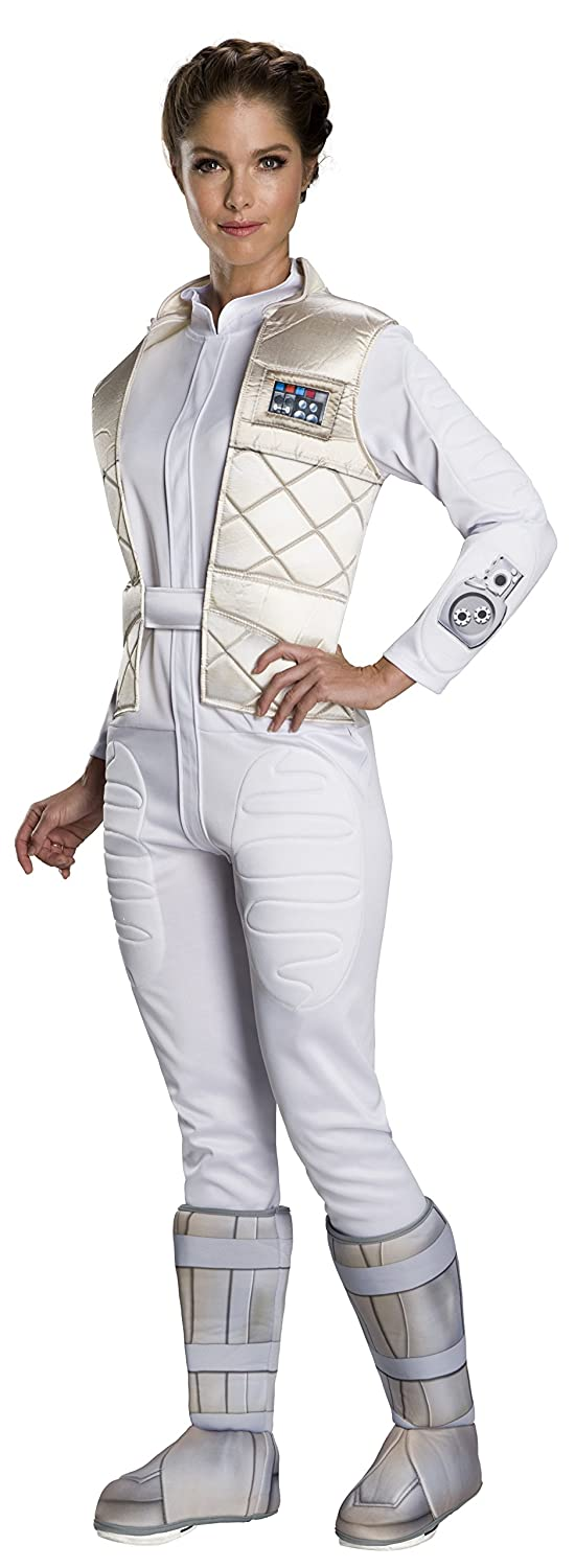 Womens Hoth Leia Fancy Dress Costume Small