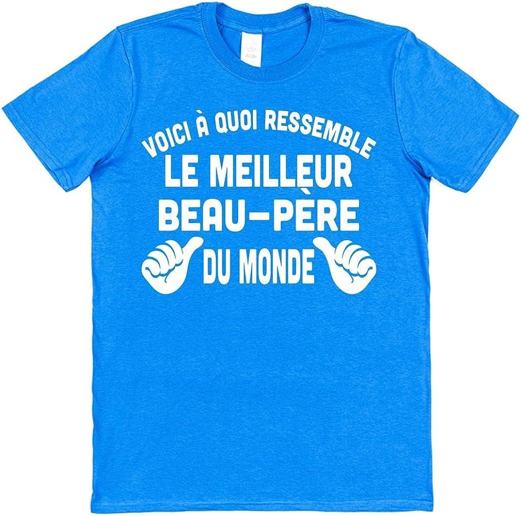 Click My Clobber Voici /à Quoi Ressemble Le Beau-p/ère du Monde T-Shirt en Coton