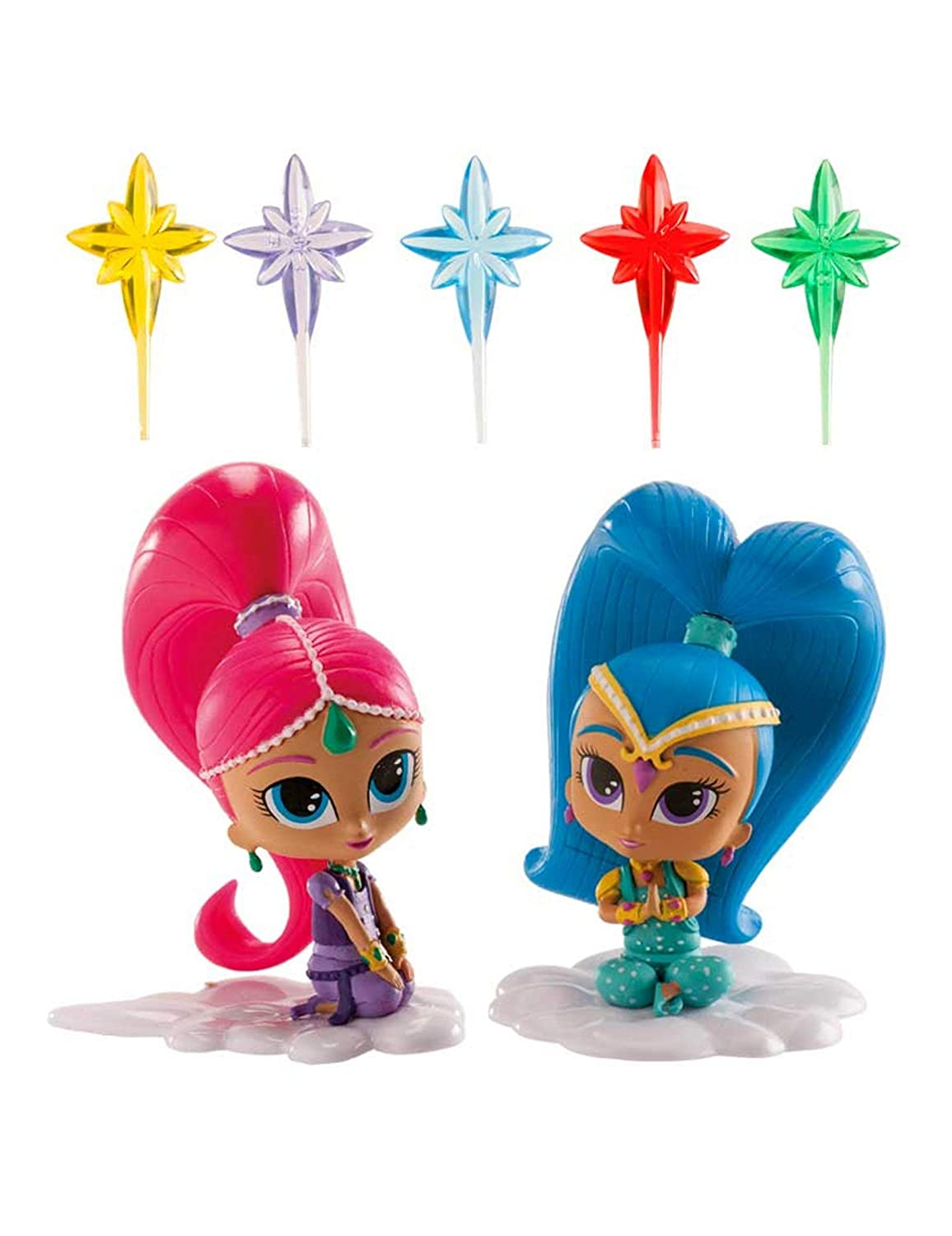 COOLMP - Juego de 3 - Kit de decoración Shimmer and Shine 8 ...