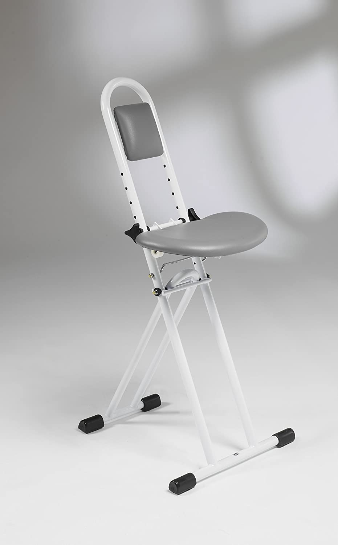 Enjoyable Folding Perching Home Kitchen Ironing Stool With Padded Uwap Interior Chair Design Uwaporg