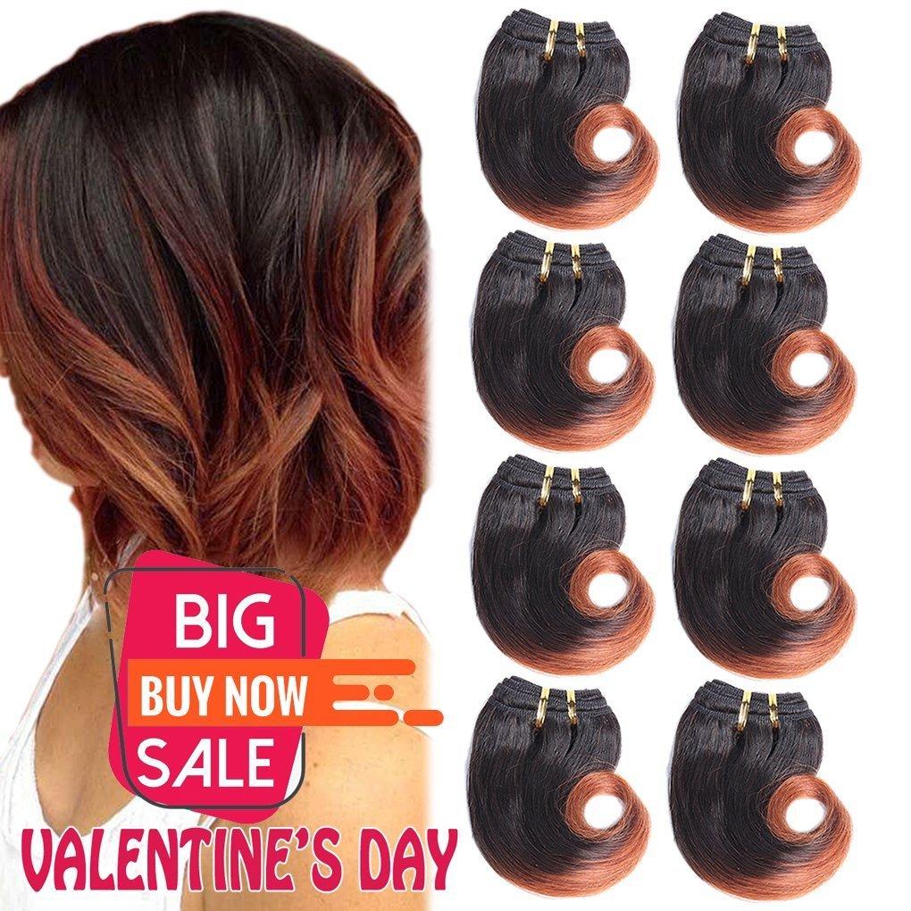 Amazon B Fashion Unprocessed Virgin Brazilian Ombre Human Hair