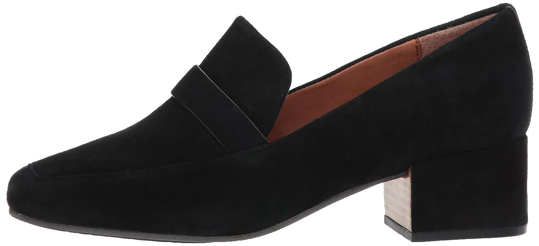 Suede Dress Pump Gentle Souls by Kenneth Cole Womens Eliott Menswear Block Heel Loafer