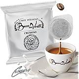 Café CREMOSO - Cialda, 100 Monodosis, ESE 44 mm - Bocca Della Veritá - Café Italiano
