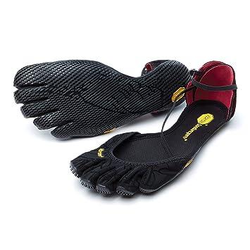 Zapatillas de dedos Vibram FiveFingers VI-S originales para mujer, sandalias, todos los colores, negro, 42 UE: Amazon.es: Deportes y aire libre