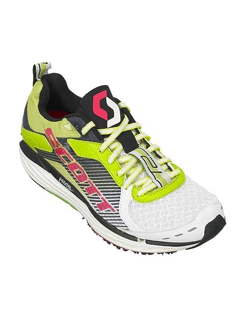 Scott WS T2 C Zapatillas Evo Green/White, color Verde, talla 36 EU: Amazon.es: Zapatos y complementos