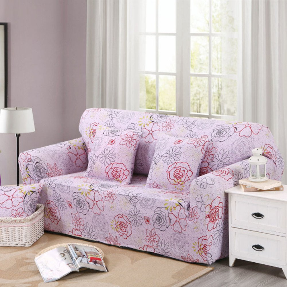 zhiy store dw hx einfarbige stretch sofa abdecken anti rutsch m o bel protector 1 2 3