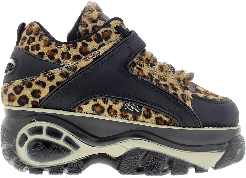 Buffalo Womens 1339-14 Vacca Leopard