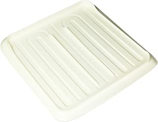 product image for Rubbermaid Antimicrobial Drain Board, Small, Bisque FG1180MABISQU