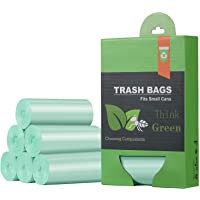 1.2 Gallon Small Trash Bags Garbage Bags, Mini Compostable Strong Bathroom Wastebasket Can Liners trash Bags for Home…