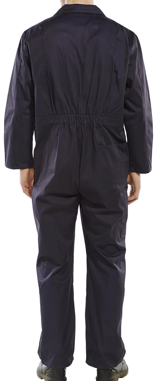 Dealer Workwear Dealer Workwear Overall Elasticated Side and Stud Fastening Large Navy