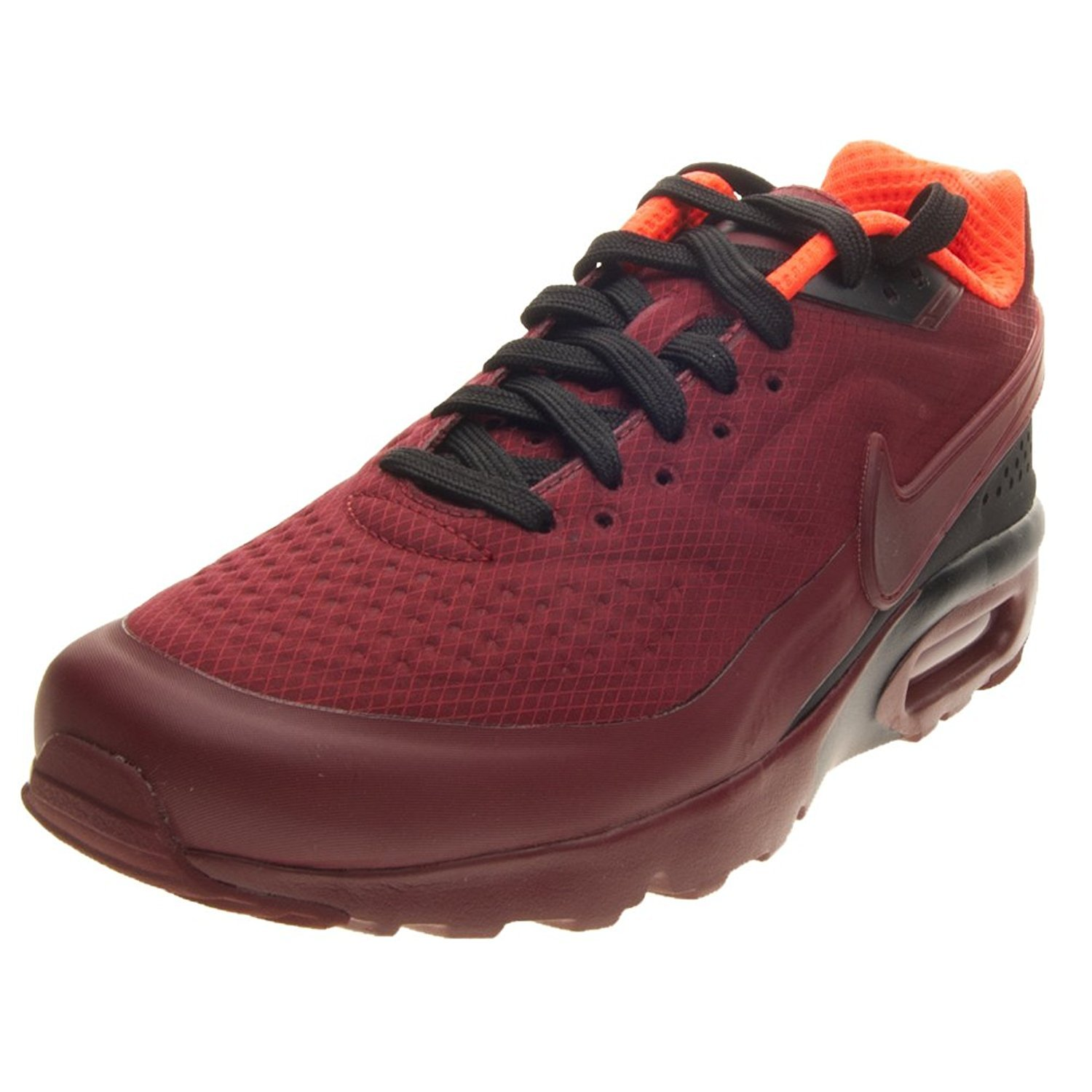 new style b94cf cc7a2 Galleon - Nike Mens Air Max BW Ultra SE Red Textile Trainers 10.5 US