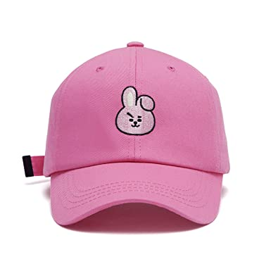 d0b03fb804e BT21 Official BTS Merchandise by Line Friends - Cooky Baseball Cap Hats for  Men and Women