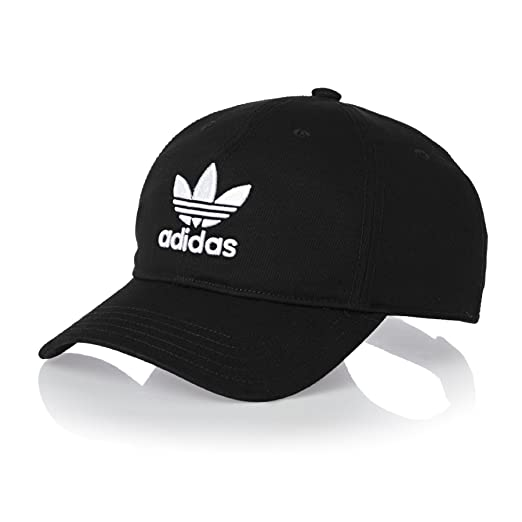 adidas Originals Trefoil Cap One Size Black at Amazon Men s Clothing ... d121915f5de4