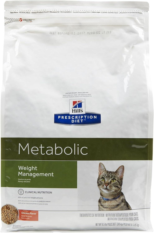 Hills Pet Nutrition Ltd Peso avanzado metabólico felino comida ...