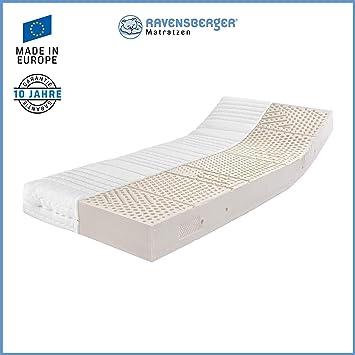Ravensberger Matratzen Latex Oeko Tex 100 Latexco 7 Zonen Komfort Matratze Aus Latex H3 Rg 65 80 120 Kg Made In Europe 10 Jahre Garantie