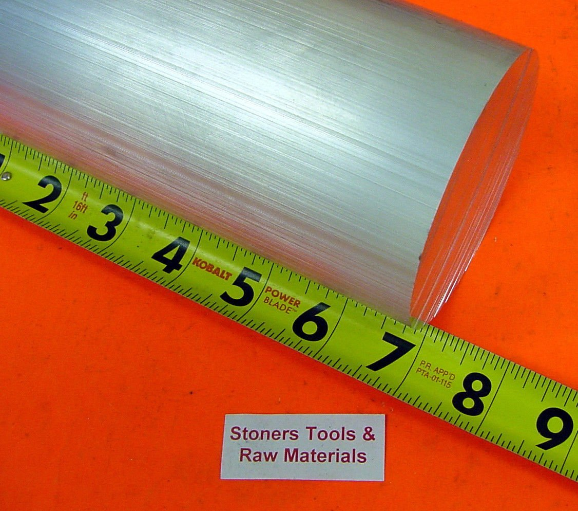 """2 Pieces 4-1//2/"""" OD ALUMINUM 6061 ROUND ROD 6/"""" LONG T6511 4.50/"""" Solid Bar Stock"""