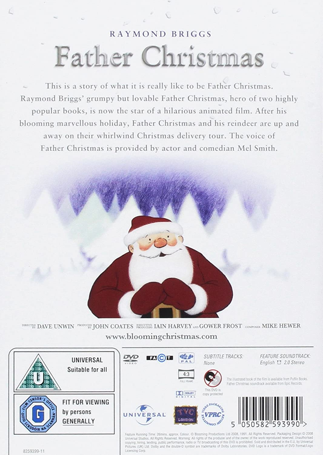 Father Christmas [DVD]: Amazon.co.uk: Dave Unwin, John Coates ...
