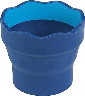 Faber-Castell F181510 - Vaso para el agua Clic & Go plegable fácil de guardar