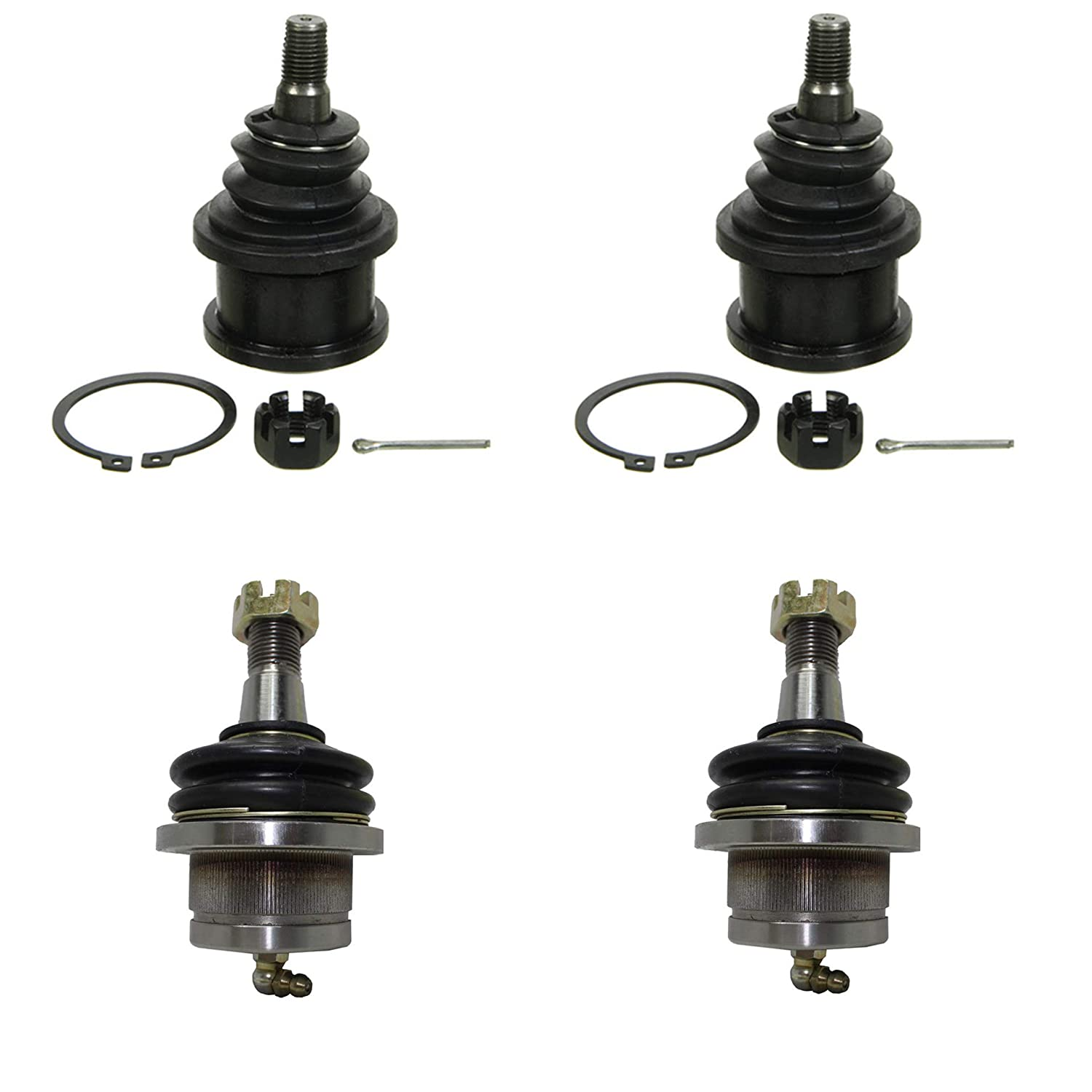 1997-2003 Ford F-150 4pc Front Upper /& Lower Ball Joint for 1997-2002 Ford Expedition - - 1998-2002 Lincoln Navigator Detroit Axle