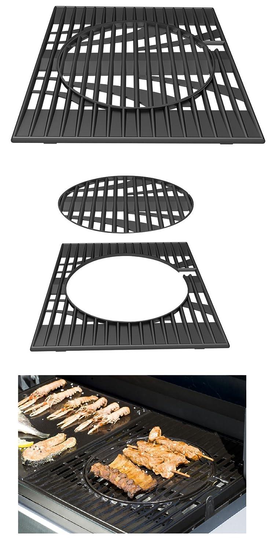 Grille en fonte avec anneau amovible Campingaz/ /Syst/ème Culinary Modular 2/Diffuseurs pour br/ûleurs australiens