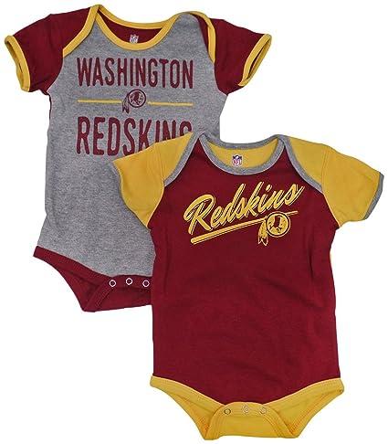 Outerstuff Washington Redskins Baby Infant Descendant 2 Piece Creeper Set  0-3 Months e409db6ff