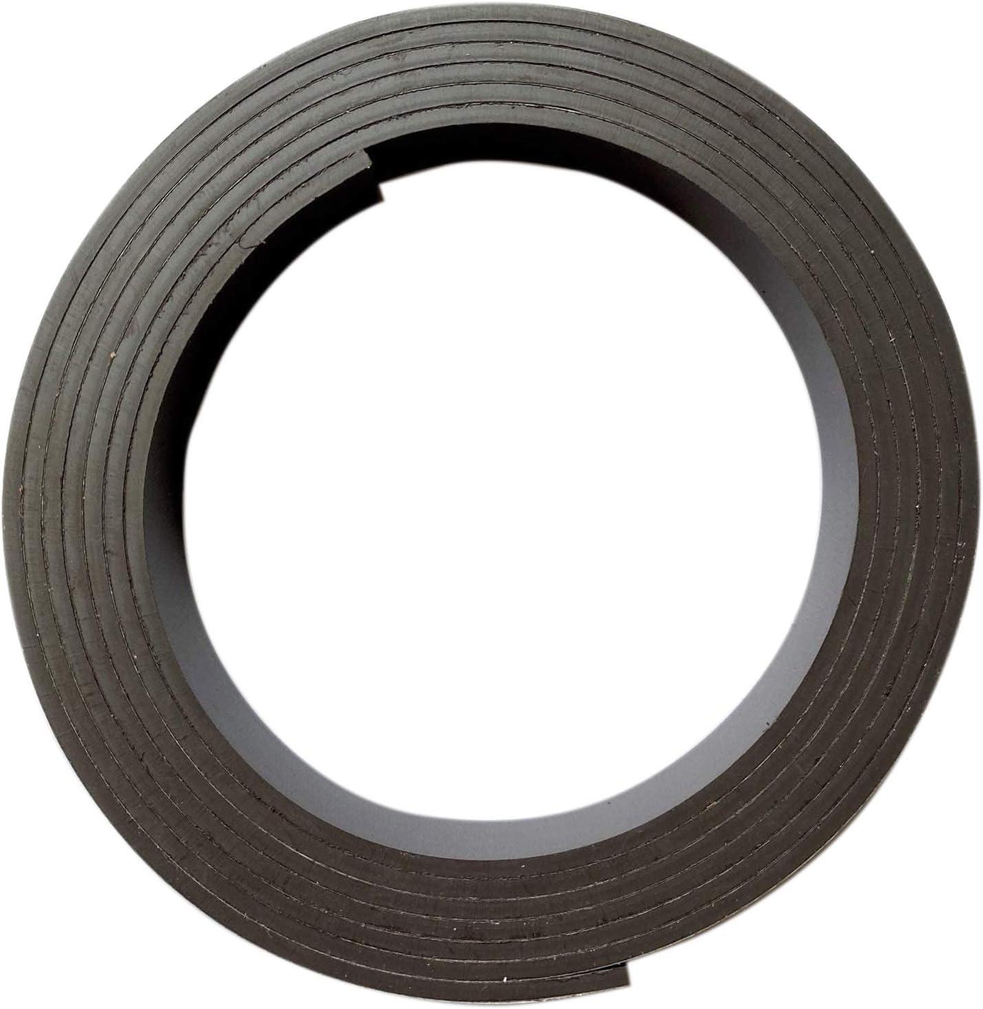 Banda magnética autoadhesiva de 3 metros I 2 mm espesor x 15 mm ancho I calidad de fuerza adhesiva alta I cortable I cinta magnética lámina magnética autoadhesiva I mag_197: Amazon.es: Oficina