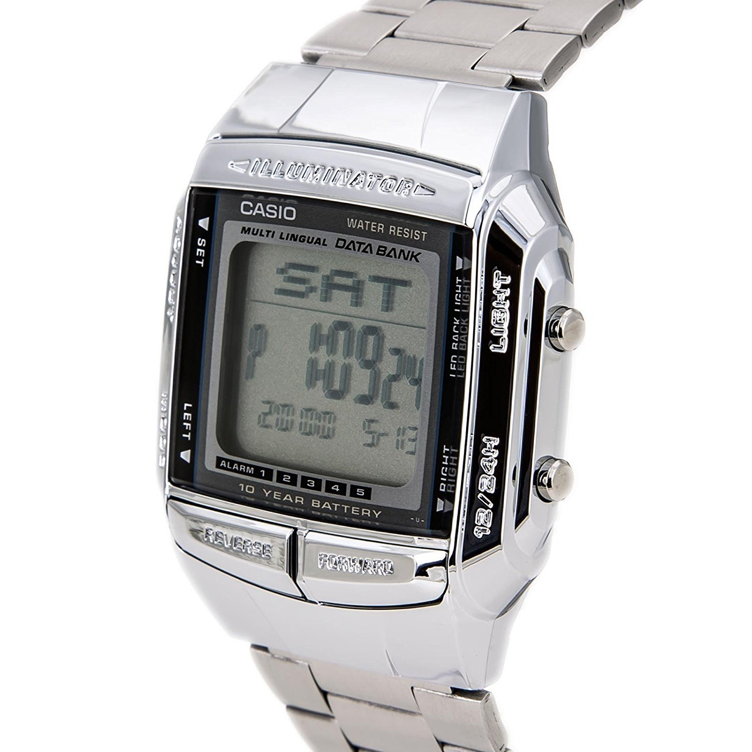 Amazon.com: CASIO - Mens Watches - CASIO Collection Retro - Ref. DB-360N-1AEF: Watches