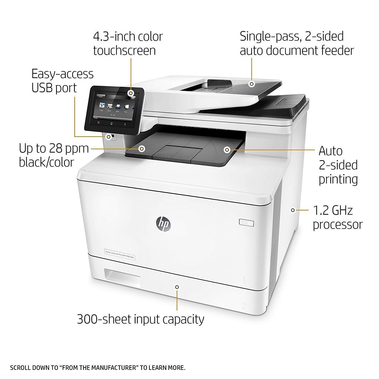 HP Laserjet Pro M477fdn Impresora a Color Todo en uno (CF378A#BGJ ...