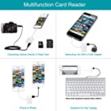 SD Card Reader 3-in-1 SD/TF Card Viewer and USB OTG