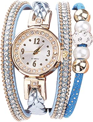 Amazon.com: Flow.month - Reloj de pulsera para novia, con ...
