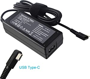 Shareway 20V 3.25A 65W USB Type C Laptop Charger Compatible with Samsung/LG/ASUS/Acer HP Spectre x360 13-ac013dx Elite x2 1012 G1 Lenovo Yoga 720 Thinkpad X1 Tablet