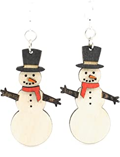 product image for Snowman Earrings