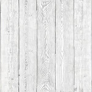 "d-c-fix 346-0671-4PK Decorative Self-Adhesive Film, Shabby Wood, 17"" x 78"" Roll, 4-Pack"