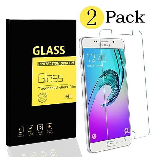 13 opinioni per [2-Pack] Samsung Galaxy A5 2016 A510 Pellicole Protettive , MENGGOOD Proteggi