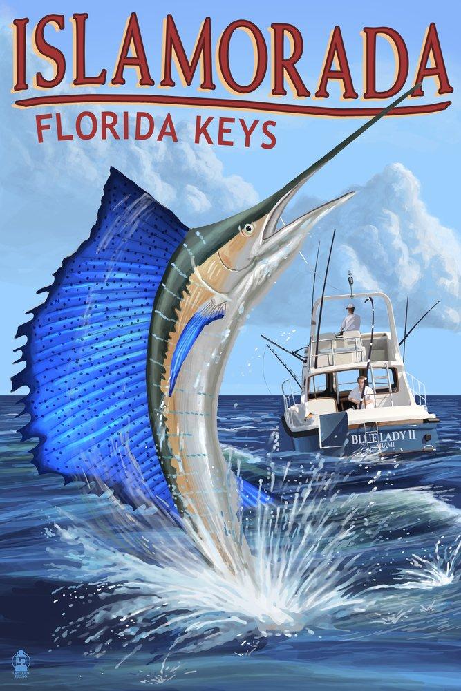 Islamorada、フロリダ州キー – Art Sailfishシーン Canvas 12 Tote Bag LANT-42061-TT Sailfishシーン B00N5CR3PA 12 x 18 Art Print 12 x 18 Art Print, 南足柄市:723e548b --- rdtrivselbridge.se